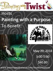 Painting With A Purpose takes place Sunday at 3 p.m.