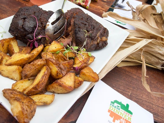 Black Angus Brisket and Potatoes by The Left Bank with