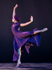 "Alvin Ailey American Dance Theater's Linda Celeste Sims in Ronald K. Brown's ""Four Corners."""