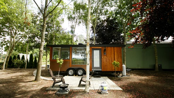 Arcane Cellars is now home to a tiny house for rent,