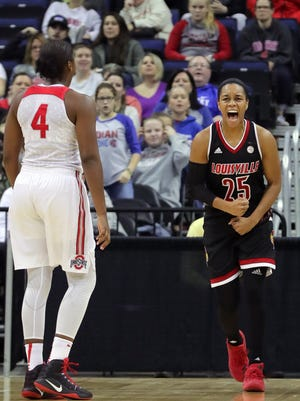 Louisville's Asia Durr had 47 points in the Cards' 95-90 win over Ohio State.