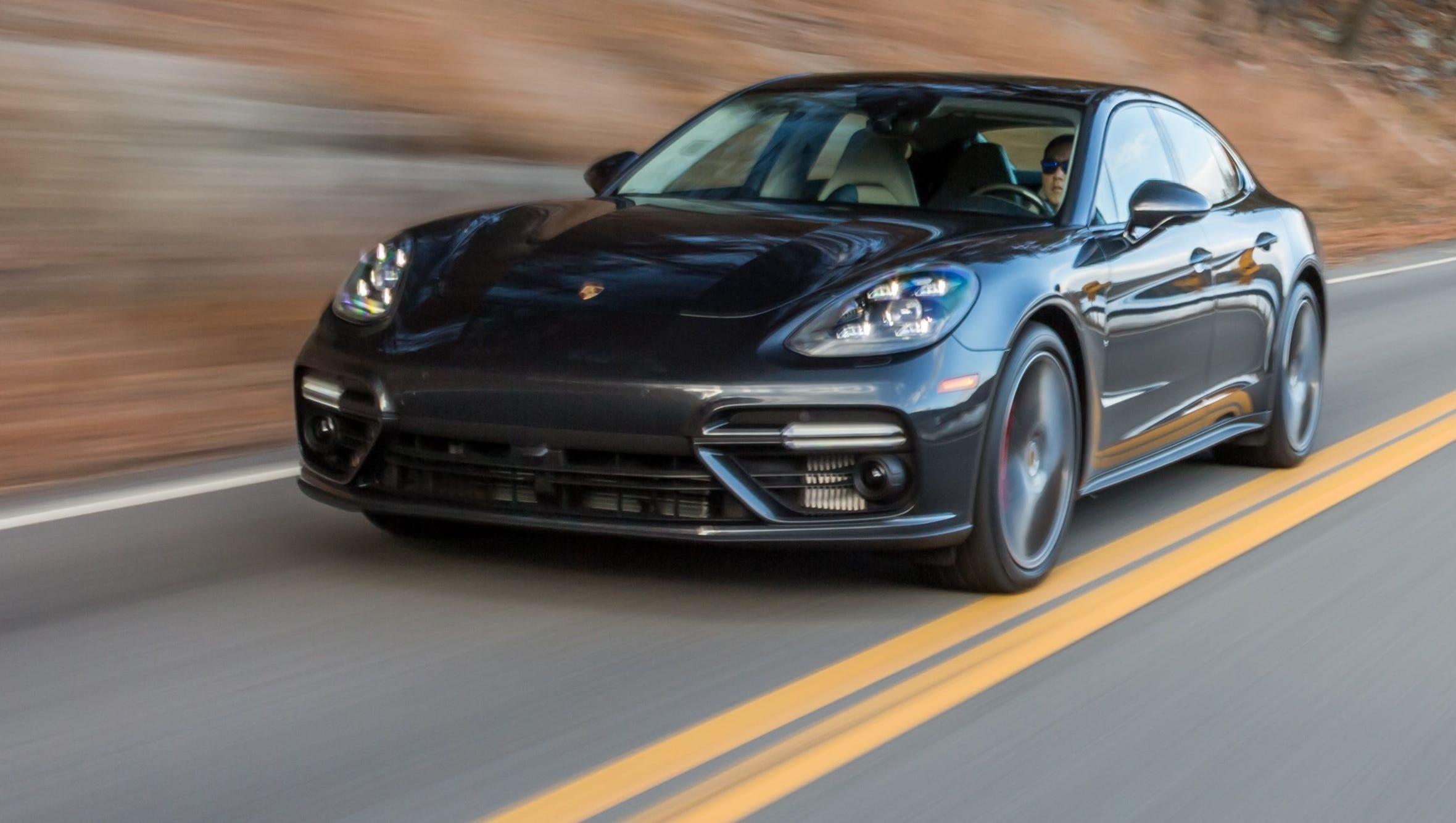 Review Porsche Panamera Turbo Is A Ceos Dream Car