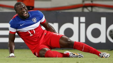 Altidore suffered a hamstring injury in the United States' 2014 World Cup opener, missing the rest of the touranment.