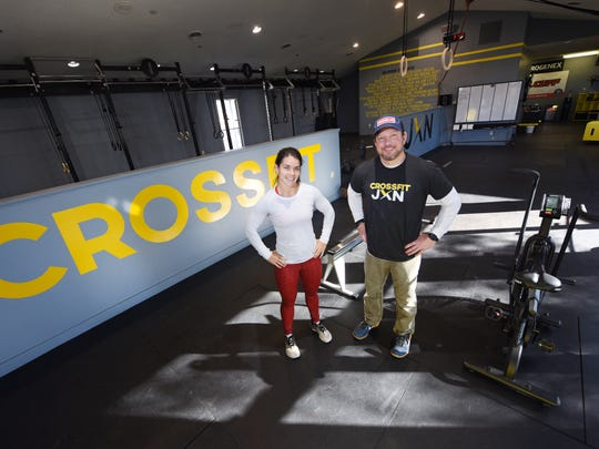 Hollye Henderson and Kris Clark have partnered to open Crossfit Jxn  on Old Square Road in Jackson in the building that formerly housed Mori Luggage.