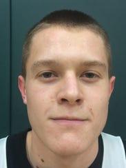 Sophomore Caleb Wissel, 5-10 Center