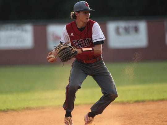 Wakulla Christian senior Destin Todd will get the pitching start Monday in the Saints' Class 2A state championship game.
