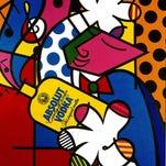 """""""Cheek to Cheek"""" by Romero Britto."""