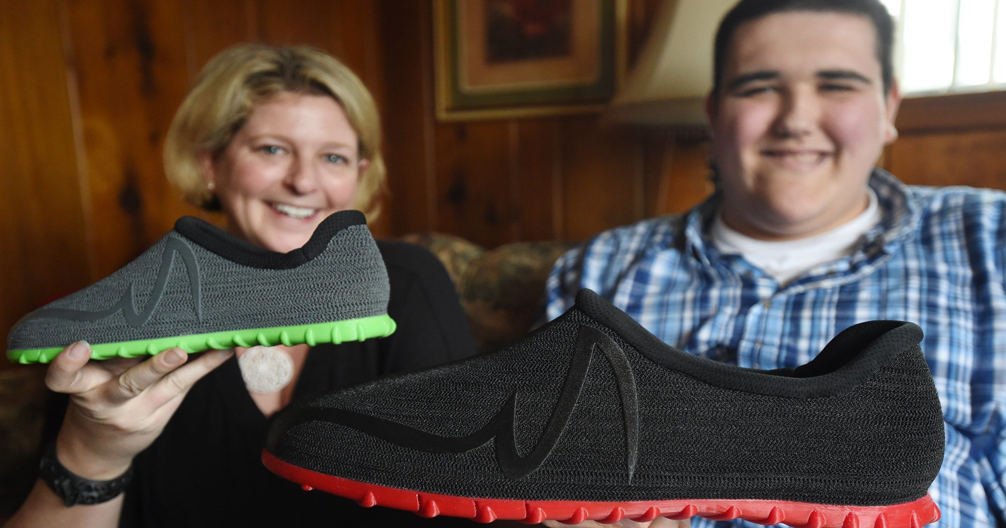 1252c0c3de1e Michigan teen finally finds affordable shoes for size-28 feet