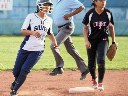 Danny Udero/Sun-News   Both Silver and Cobre softball teams start its effort to get back to the state title game Friday and Saturday in first-round action.