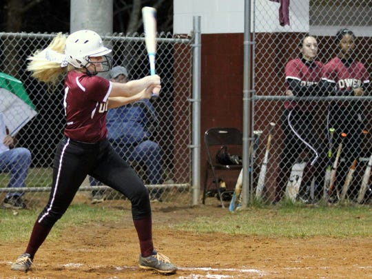 Jaiden Tweed has been an offensive force for the Warlassies, picking up three home runs in as many games.