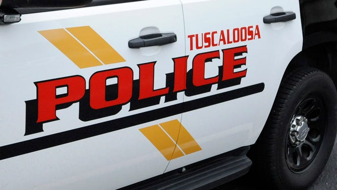 Tuscaloosa Police vehicle.