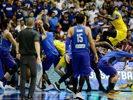 EPA PHILIPPINES BASKETBALL SPO BASKETBALL PHL
