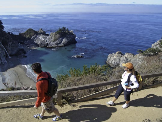 Choose a wellness escape combined with scenic splendor such as the Big Sur coast.