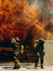 Former firefighters and other first responders often