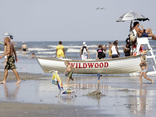 Wildwood Crest breaches will offer beach boxes this summer. The locked mini sheds originated on the Wildwood beach. Wildwood City will run the beach boxes in the Crest.