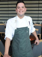Jacob Coronado, chef at 8UP Elevated Drinkery and Kitchen. Sept. 3, 2015