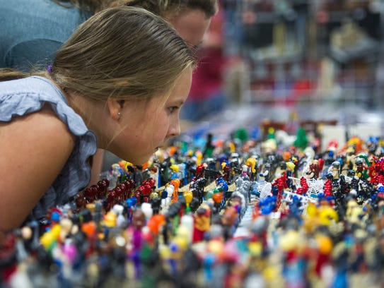 Eliza Francis takes a look at figurines at the Fanboy