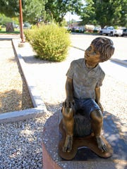 """Eyes of Wonder,"" by Nebraska sculptor Sondra Jonson,"