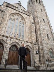 Diocesan Vicar General Msgr. Steven Hurley poses for