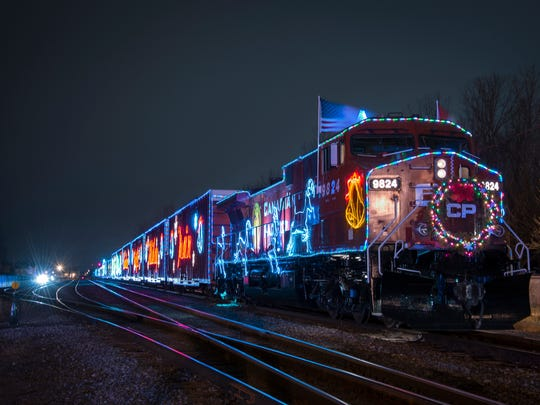 The Canadian Pacific Holiday Train will make stops in Central Minnesota Dec. 12 and 13, 2019.