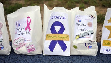 The American Cancer Society will hold three separate Relay for Life events in Santa Rosa and Escambia counties today. Teams of rally participants will gather at dusk and spend the night walking to raise funding and support for victims of cancer and their families.