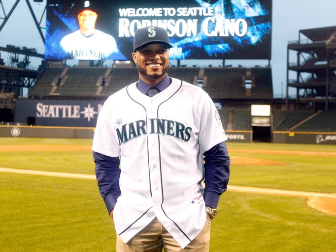 1. Robinson Cano, Seattle Mariners.