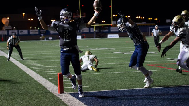 Pinnacle is looking to upset Brophy Prep in the first round of the 6A playoffs.
