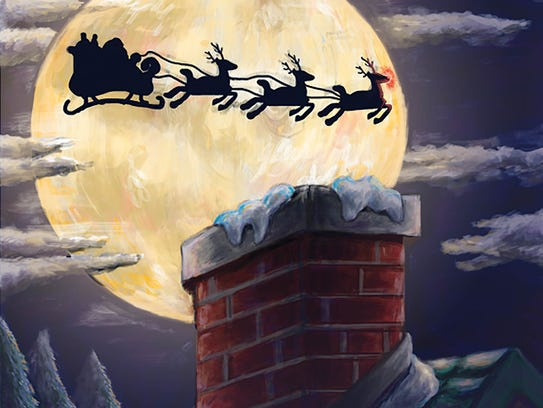 """'Santa Claus is Coming to Town' will touch down at the Broadway Theatre in Pitman.  In """"A Magical Frozen Sleigh Ride,'' Rudolph loses his Christmas spirit and his Frozen friends help him find it again in the Snow Queen's kingdom.  Both shows are family productions this holiday season."""