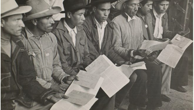 """Remember the Braceros-Personal Accounts"" will be held July 6, 2018, at the Branigan Cultural Center."