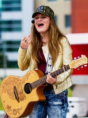 Country singing teen Bernadette Kathryn will perform