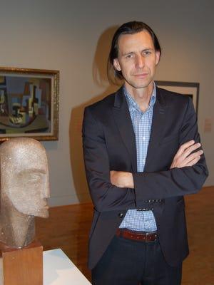 Museum director Frank Verpoorten