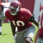 Linebacker Reuben Foster, the on-the-field heir apparent to Reggie Ragland, could also be a contender to take on Ragland's leadership role off the field.