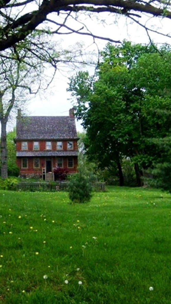 We'll move across town for a second to see the second York County house on the Network to Freedom list, the Willis House, nestled next to Prospect Hill Cemetery.