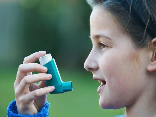 Inhaladores en las escuelas.