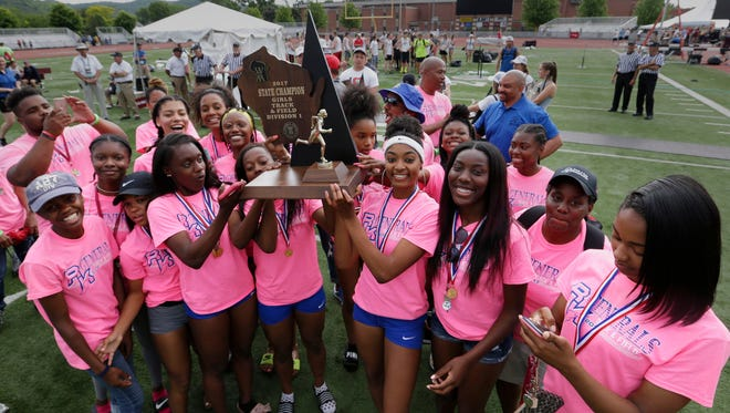 The Milwaukee King girls track and field team won its second consecutive state title last weekend in La Crosse.