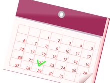 Browse events calendar; submit your items