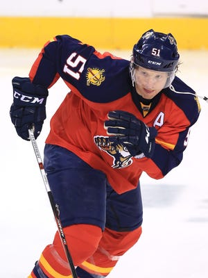 Brian Campbell played for the Florida Panthers from 2011-16.