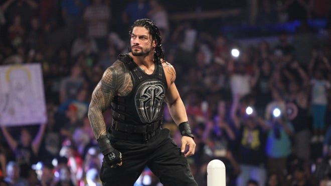 Pensacola native Roman Reigns is part of the show at the Civic Center when WWE comes to Tallahassee.