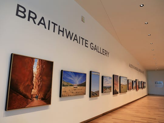 """Artist Kevin Kehoe's """"Western Therapy"""" is among the five exhibits currently on display at the Southern Utah Museum of Art in Cedar City."""