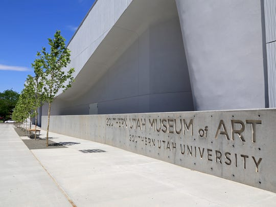 The new Southern Utah Museum of Art is part of Southern