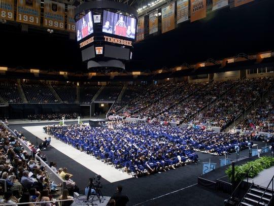 Hardin Valley Academy's class of 2018 graduation ceremonies