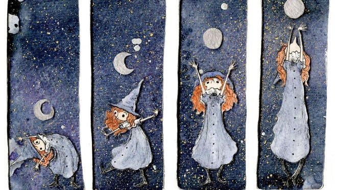Witch Moon Grow by Lindsey Bryan is part of an exhibition throughout August in the Massillon Museum.