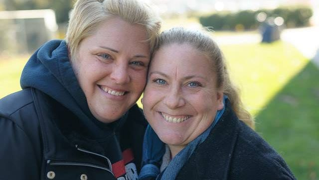 """Tracy Zucaro (left) and Melissa Miller (right) are the founders of """"Helping Families in Need, Ocean County, NJ."""""""