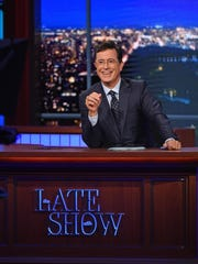 """Stephen Colbert starts """"The Late Show with Stephen Colbert,"""" after Letterman retires from his version of the show."""