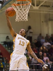 Howe's Harris Brown has led the Hornets to the City Tournament title game.