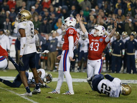 NCAA Football: Armed Forces Bowl-Louisiana Tech vs Navy