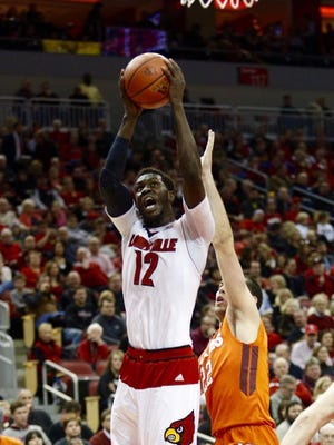 Mangok Mathiang's hot start helped U of L to an early lead Tuesday against Virginia Tech.