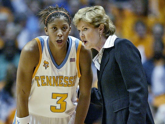 3 – Candace Parker, Tennessee (2005-08): Parker was