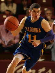 In 2012-13, Bobby Naubert was the WHAC Player of the Year and a second-team NAIA All-America for Madonna University. Now, the Livonia Stevenson alum is in his first season coaching the MU junior varsity team.