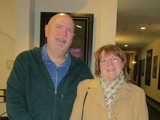 Doug Council and Cheryl Zeh of Shingletown attend the